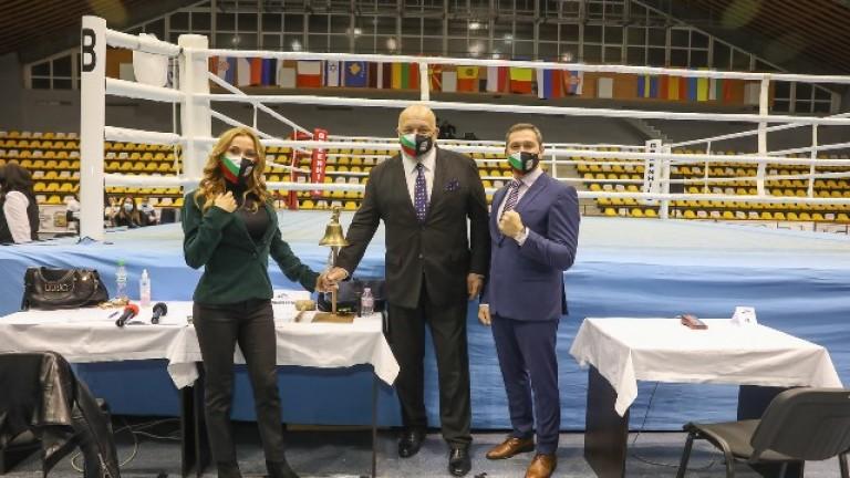 Министър Красен Кралев откри Европейското първенство по бокс за юноши и девойки