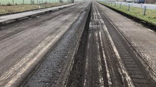 """Сега АПИ стабилизира основата на 16,5 км от АМ """"Тракия"""""""