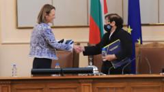 Ива Митева бе избрана за председател на НС, ГЕРБ - сами в парламента