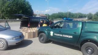 Заловиха русенец с 10 500 кутии контрабандни цигари
