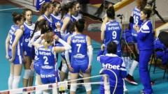 Левски не даде гейм на Раковски в допълнителния турнир на волейболистките