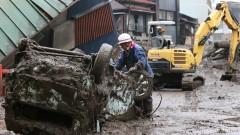 """""""Това е ад"""": Около 80 изчезнали в свлачищата в Япония"""
