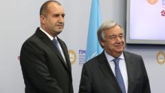Радев призова ООН да предотвратява възникващите кризи