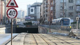 Промяна в маршрута на трамваите № 1, 6 и 7 заради скъсани кабели