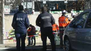 """Разтвор е причинил евакуацията на хора при строежа на метрото на бул. """"България"""""""