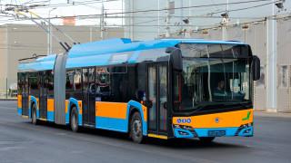 30 нови тролейбуси Škodа се движат в столицата