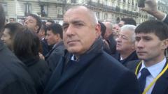 Ценим и защитаваме свободата на словото, каза Борисов в Париж