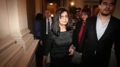 Кунева търси в НС подкрепа от управляващото мнозинство