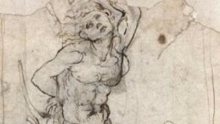Случайно намериха рисунка на Леонардо