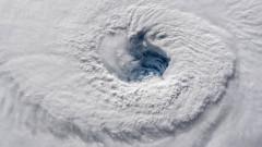 Ураганът Флорънс, видян от космоса