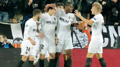 Валенсия изпревари Манчестър Юнайтед след лесен успех над Йънг Бойс у дома