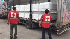 Пратихме над 22 тона минерална вода в помощ на Македония