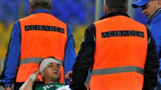 Цесекар в Пирогов след сблъсък с играч на Левски