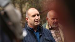 Румен Радев не иска да мисли още за служебно правителство
