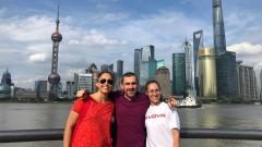 Добро представяне на Свиленова и Стублева в Китай