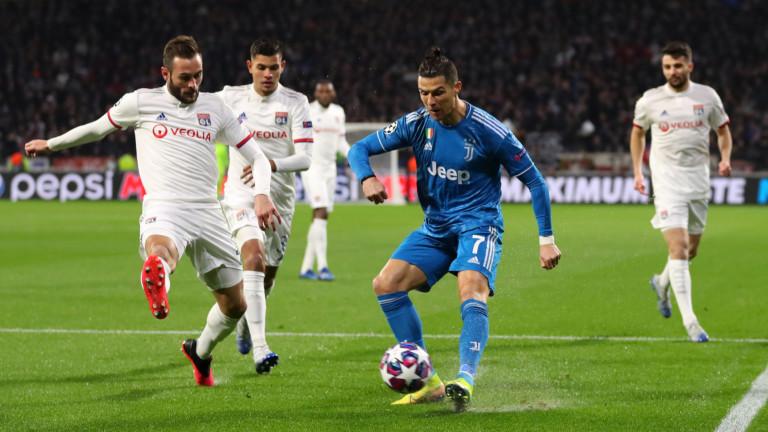 Звездата на Ювентус Кристиано Роналдо коментира загубата с 0:1 от