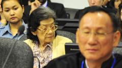"""""""Червените кхмери"""" на подсъдимата скамейка"""