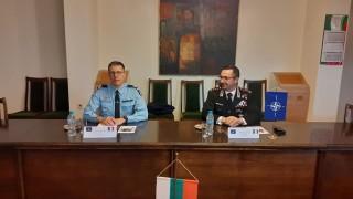 Спецделегация от НАТО по опазване на вътрешния ред гостува на Военна полиция