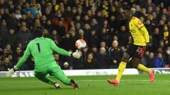 Уотфорд победи Ливърпул с 3:0