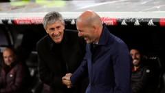 Зинедин Зидан: Ако не пресираш Барселона, постоянно ще гониш топката