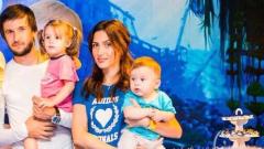 Миската Ромина Андонова роди трето дете