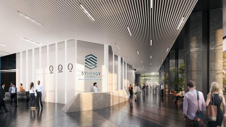 Synergy Tower: Най-новата офис сграда в София за €41 млн.