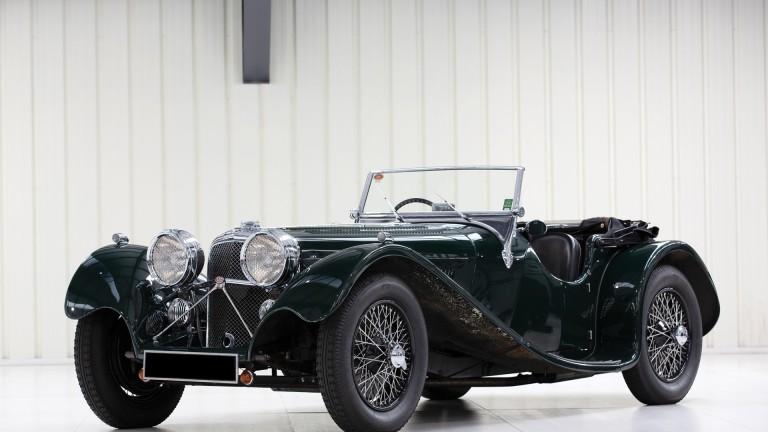 Супер рядък  Jaguar от Втората световна война за продан