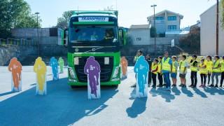 Демонстрация за безопасност на старта на 67-та Международна колоездачна обиколна на България