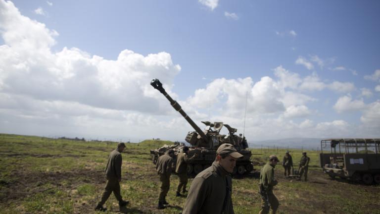 Израел разполага ПРО системи по границата със Сирия