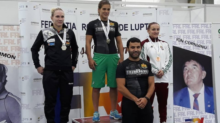 Националите по борба спечелиха шест титли от турнира в Румъния.