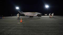 Тайният военен космически самолет X-37B на Пентагона кацна след 2-годишен полет
