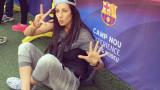 Мис Силикон: Винаги ще си бъда за Левски, клубът трябва да го има