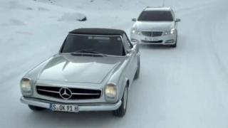 Неделните шофьори на Mercedes-Benz – Шумахер и Хакинен