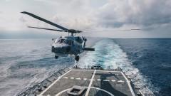 Руски вертолет падна в Балтийско море при нощен тестов полет