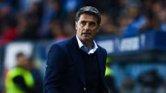 Мичел вече не е треньор на Малага