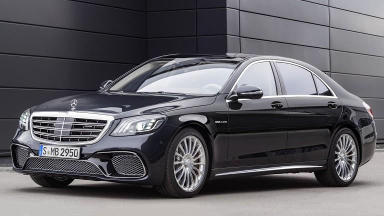 Mercedes-Benz разработва електрически автомобил с размерите на легендарната си S-класа,