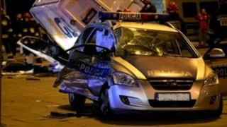 Трима задържани в Белград. Врязали се с кола в кортежа на президента Вучич