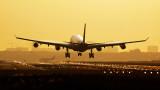 Инцидент деформира носа на самолет във въздуха