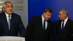 Борисов обсъдил с Каракачанов и Симеонов кадровите промени