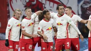 Драматичен триумф остави РБ Лайпциг на две точки от Байерн (Мюнхен)