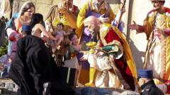 Полугола феминистка се опита да вземе статуя на Исус от Ватикана