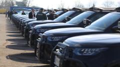 МВР пуска в боя новите автомобили на Гранична полиция