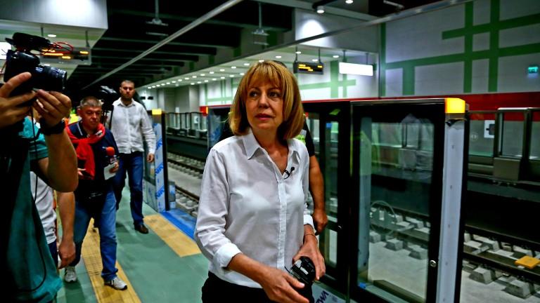 Строителството на метрото не трябва да спира заедно с околовръстния