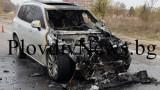 Джипът на доктора на Ботев (Пд) се запали, няма пострадали