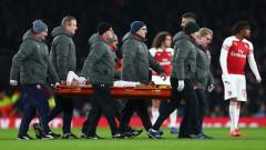 Арсенал остана без Ектор Бейерин до края на сезона