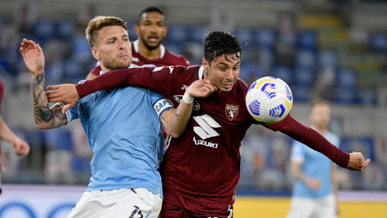"""Торино удържа Лацио и остава в Серия """"А"""""""
