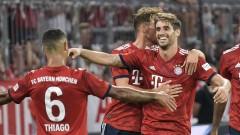 Байерн (Мюнхен) надви слаб Манчестър Юнайтед в контролна среща