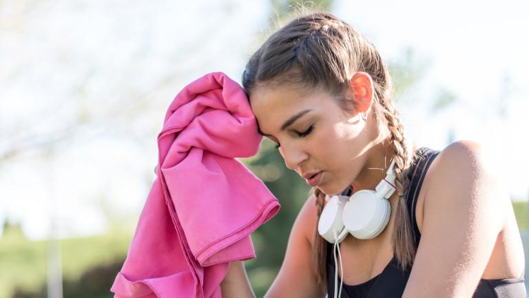 Високите температури водят до най-нормалната реакция на нашето тяло -