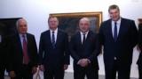 Ръководството на БФВолейбол на работна среща с министър Кралев