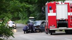 Катастрофа край Благоевград прати в болница мъж
